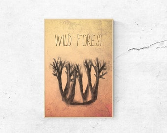 Poster Forest DINA3