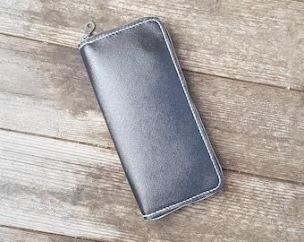 leather purse, wallet, biker wallet, trucker wallet, purse