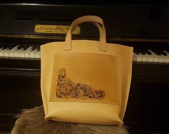 Pattern for shopping bag, totebag, butcher bag