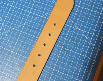 Pattern for leather belts with a width of 25mm, 30mm, 35mm, 38mm 40mm