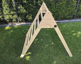 Climbing triangle blueprint, DIY pattern