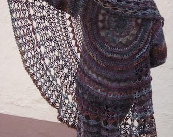 Crochet Pattern Pdf Kreisjacke Häkelanleitung Etsy