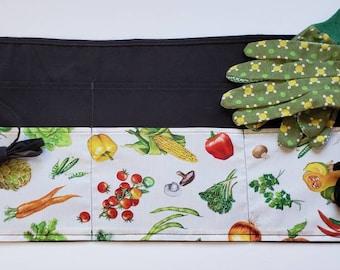 Attrezzo da giardino Cintura in tela Attrezzo per grembiule con tasche Kit da giardinaggio Tote Bag Organizzatore per la casa Attrezzo da giardinaggio Porta attrezzi Kit da giardino Cortile Borsa da