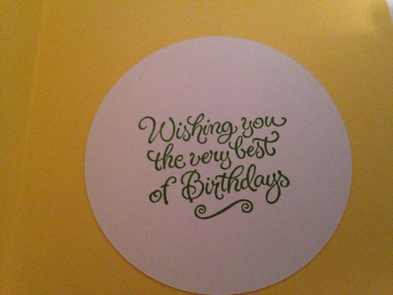 handmade birthday greeting cards set of 6