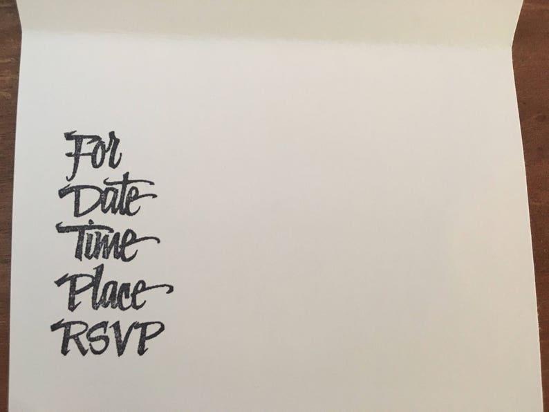 Daisy Duck invitation Set of 15 with envelopes