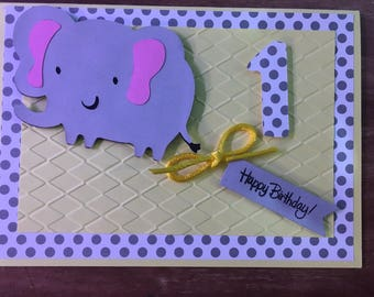 Baby handmade Greeting Card with envelope