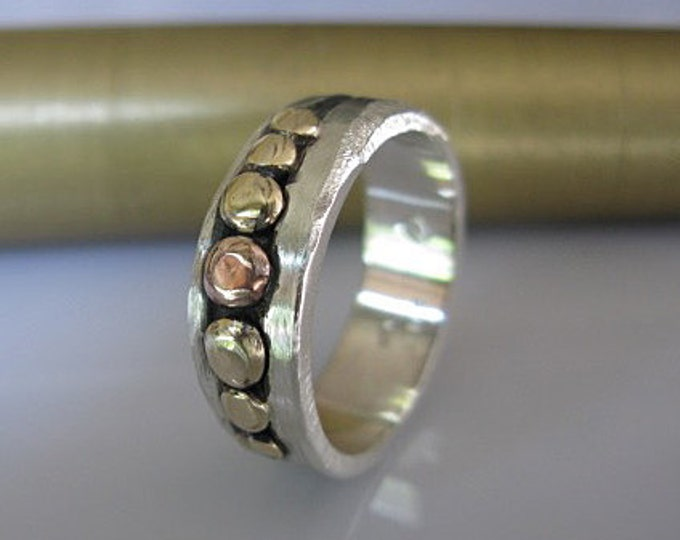Size 7-3/4 Peas in Pod Ring
