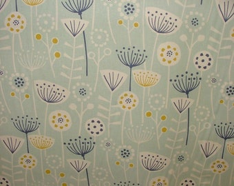 Fryetts Scandi Bergen Seafoam Curtain Upholstery Craft Cotton Designer Fabric