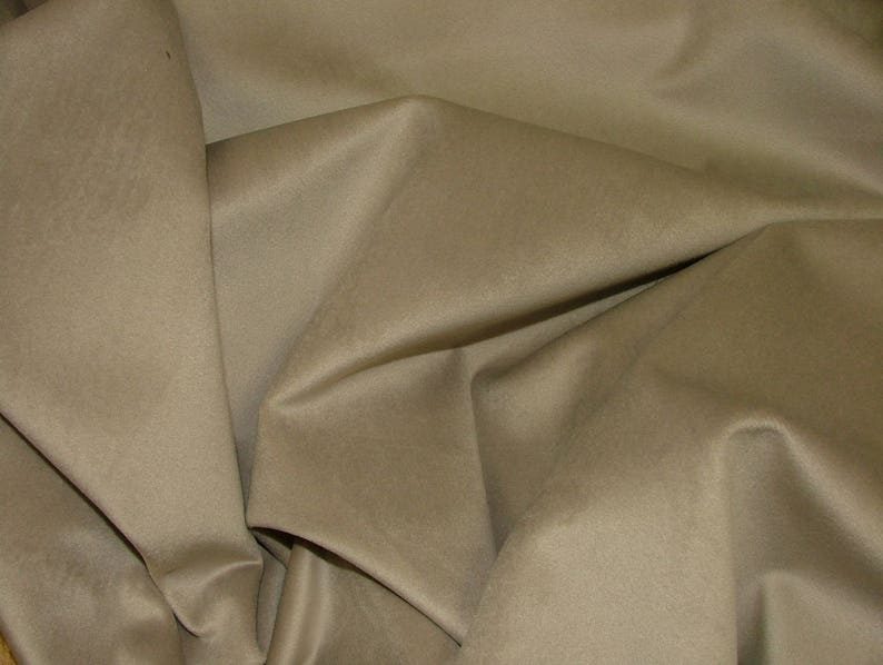 Plain Extra Soft Velvet Designer Fabric Curtain Upholstery Cushion Craft Blind Warm Grey