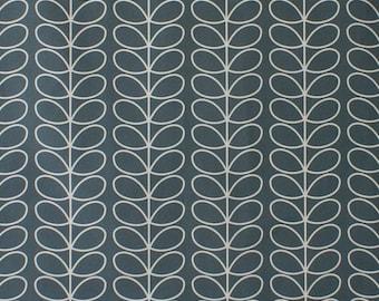 Orla Kiely Linear Stem Cool Grey Curtain Blind Upholstery Craft Fabric