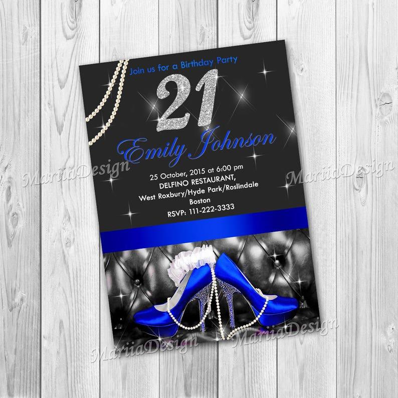 21st Birthday Invitations 40th Invitation For Women