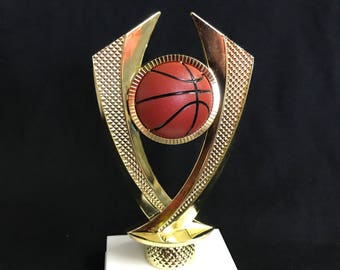 Basketball Trophy Award Customize It With Your Words