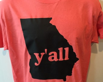 Ya'll shirt Georgia shirt y'all shirt