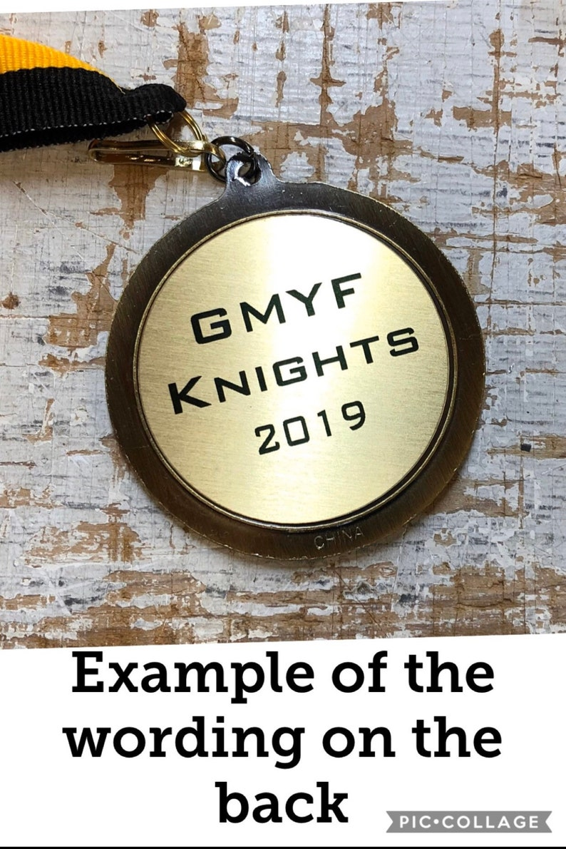 victory trophy victory medal victory medallion sports award customize it with your words