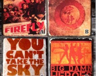SerenityFirefly Slate Coasters