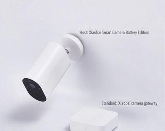 Smart Wireless IP  Xiaoimi Xiaobai Battery Version-Waterproof Dustproof /  Support Human Sensory Notification / Long-distance Voice Intercom