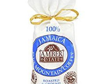 SALE on World BEST Coffee Ground  100%  Jamaica Blue Mountain  Medium Roasted STARBUCKS  Supplier Amber Estate 4 oz (113g)