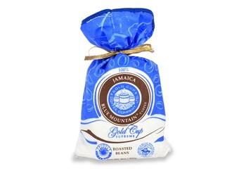"8 oZ (227g)  Gold Cup Supreme Bean Coffee Jamaica Blue Mountain Coffee Bean ""World Best Coffee"""