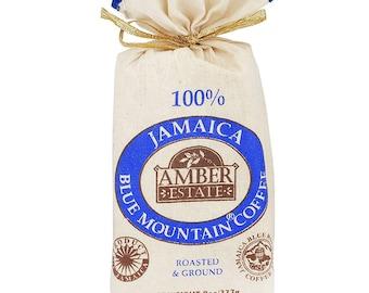 """Jamaica Blue Mountain 100% BMC Coffee Whole Bean  8 oz (227g)- """"World Best Coffee"""""""