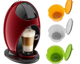 5 Pcs Reusable Capsules Refillable Coffee Capsules Pods Filters Cups Eco-Friendly Reusable Coffee Capsule