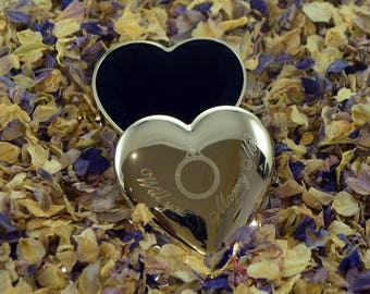 Will You Marry Me Ring Heart Engagement  Ring Box - Fabulous Gift Idea-Valentine- Engagement- Anniversary -Christmas