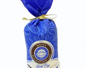 16 oz (454g) Gold Cup Supreme Bean Coffee Jamaica Blue Mountain  World Best Coffee Bean