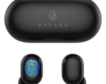 HAYLOU GT1 Bluetooth 5.0 Mini Waterproof Wireless Bluetooth Earphone (Black)