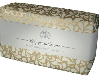 Congratulations Gift Shea Butter Pure Indulgence Soaps Bath Soap-200g- Ideal Gift For - Her- Him- Son- Daughter- or Just For You