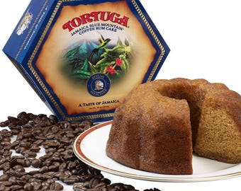 Coffee Cake Jamaica Blue Mountain Coffee Cake - 4 oz  -Idea Gift for Cake & Coffee Lover
