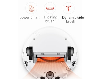 Mi Robot Vacuum Cleaner Xiaomi  Roborock 1S Automatic Sweeping and Mopping Cleaning Robot, Support Smart Control