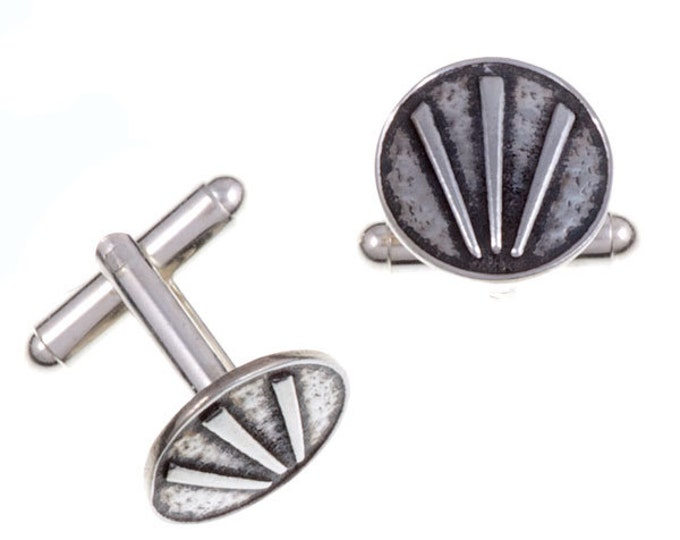 Cornish Awen T-bar cufflinks- Hand Made and Design in UK