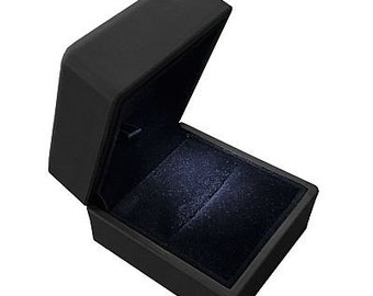 Light Ring Box  Ideal For Engagement -Wedding -Anniversary -Valentine -Birthday
