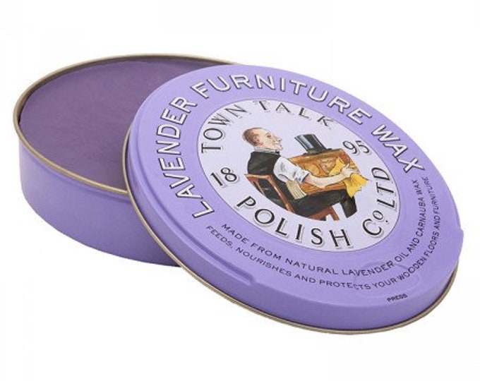 Lavender Furniture Wax 150g -Town Talk- Made in UK