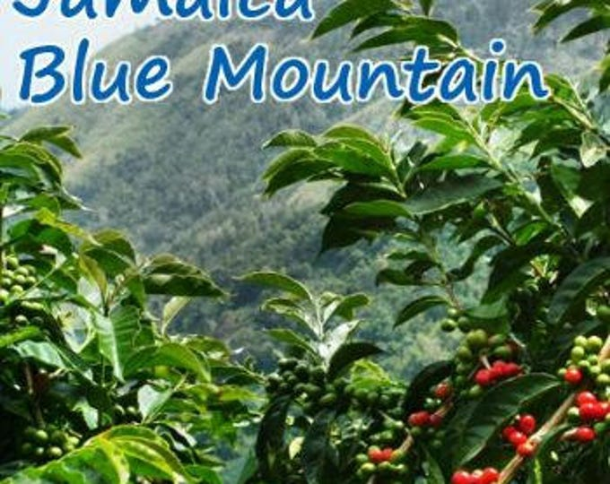 FREE DELIVERY  100%  Jamaica Blue Mountain Coffee Bean Coffee Jamaicas Blue Mountain -8 oz (227g)