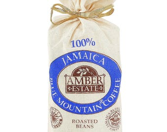 Free Delivery -8 oz 100 % Jamaica Blue Mountain Beans Coffee  -(227g)The Roll Royce of all coffee- Ideal Gift for Birthday