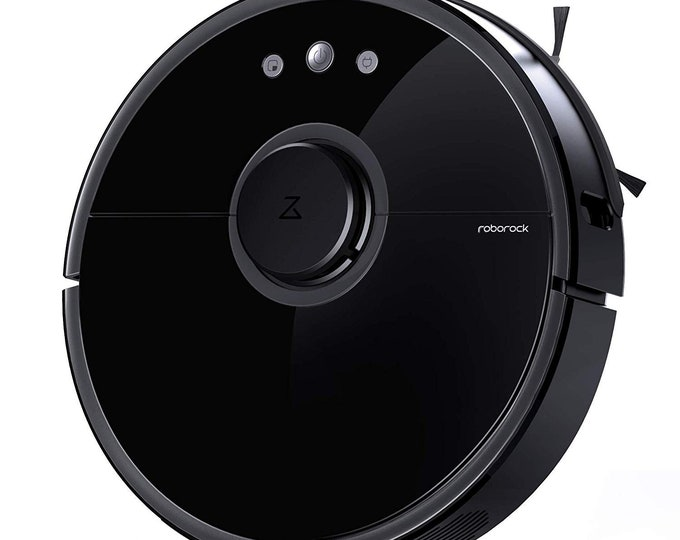 Black Robot Smart Wifi Vacuum Roborock S50  Cleaner 2 Generations Wet & Dry Mopping -Cleaning -App Control Android / Apple- Great Gift Idea