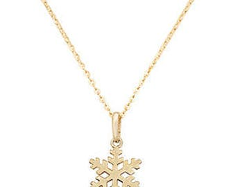 Gold Necklace Pendant 9ct GOLD Necklace with 18 inches Chain