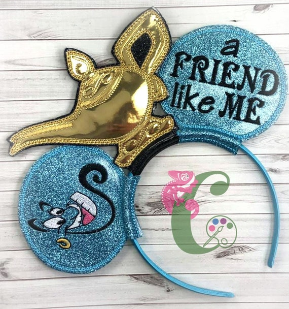Genie Lamp Mouse Ears Headbands Hair Acessories Vacation