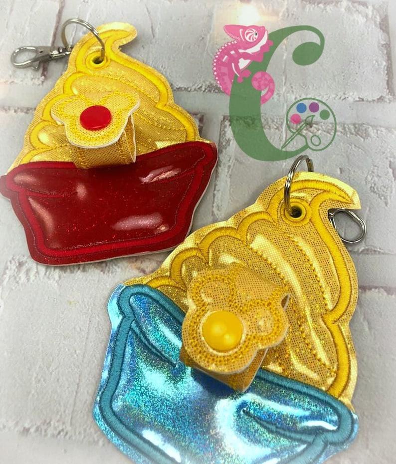 whip back pack accessory Snacks mouse Ear holder Hat holder Bow holder Sunglasses holder key chain purse charm backpack charm