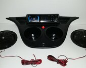 Yamaha DRIVE G29 Golf Cart Stereo Radio system DASH MOUNT Console with speakers