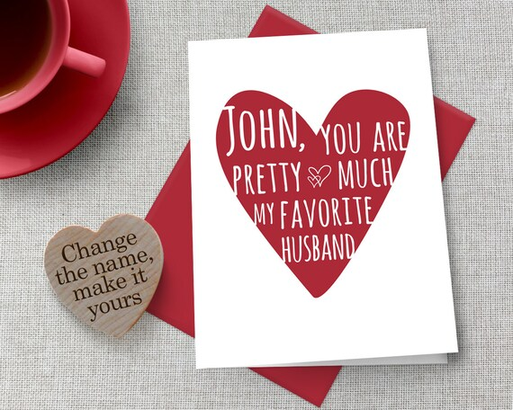 Personalized Valentine S Day Card Customized Etsy