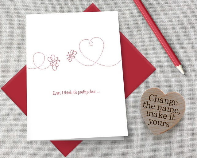 image 0 - Personalized Valentines Day Cards