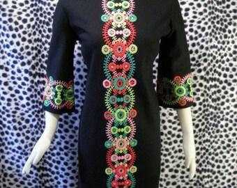 Vintage Black GoGo Dress