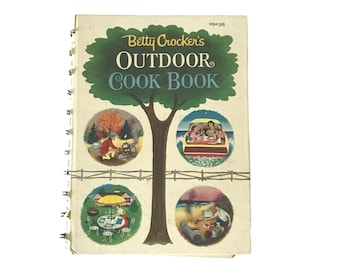 Betty Crocker's Outdoor Cookbook 1961 Hardcover