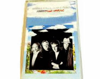 Crosby, Stills, Nash and Young- American Dream Cassette Tape