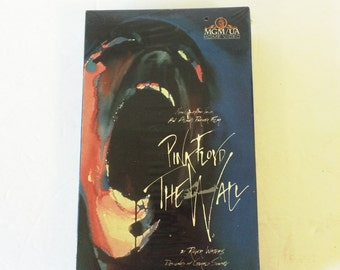 Pink Floyd The Wall VHS 1989