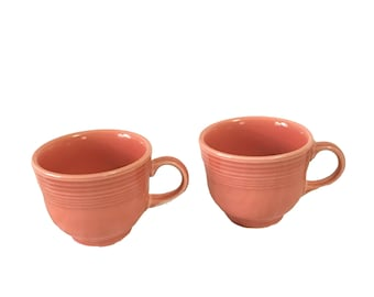 Fiestaware Mugs Set of 2 Retired Color Permisson