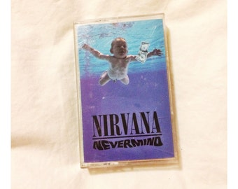 Nirvana Nevermind Album Cassette  Tape