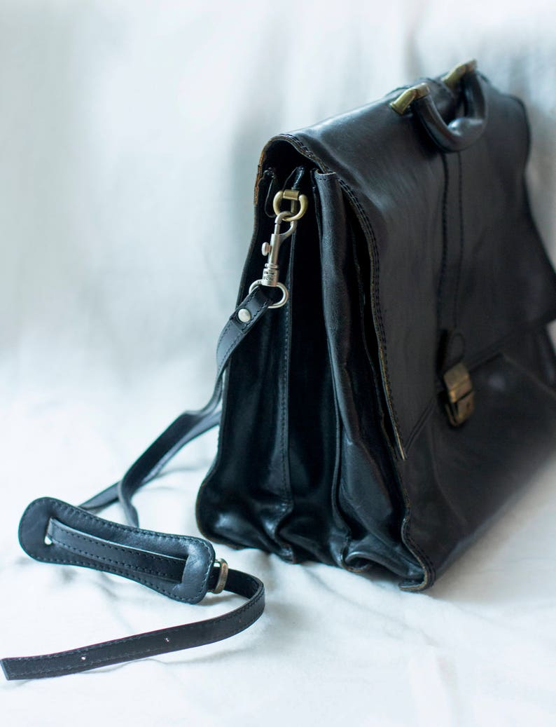 Vezzano Messenger Bag Business Leather Bag made in Italy Quality Bag