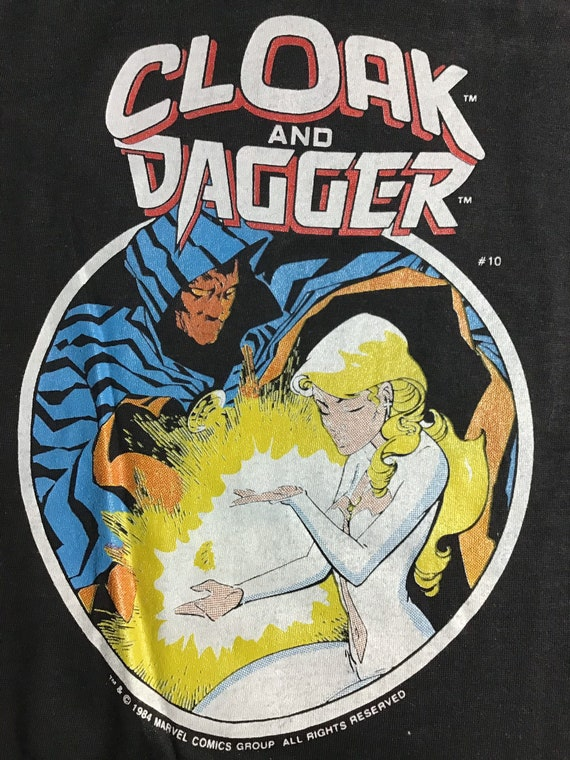C&D 1984 tee, Cloak and Dagger 1984 vintage tee sh